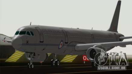 Airbus A321-200 Royal New Zealand Air Force para GTA San Andreas