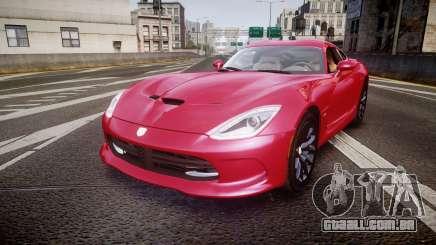 Dodge Viper SRT 2012 para GTA 4