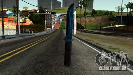 Knife from Kuma War para GTA San Andreas