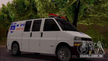Chevrolet Exspress Ambulance para GTA San Andreas