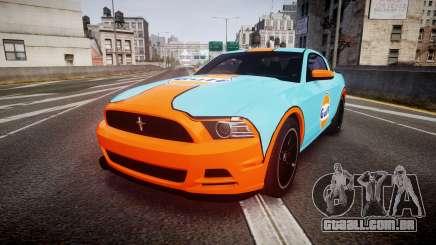 Ford Mustang Boss 302 2013 Gulf para GTA 4