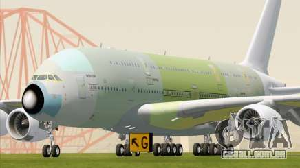Airbus A380-800 F-WWDD Not Painted para GTA San Andreas