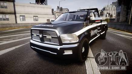 Dodge Ram 3500 NYPD [ELS] para GTA 4