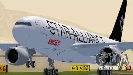 Airbus A330-200 SWISS (Star Alliance Livery) para GTA San Andreas