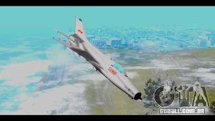 MIG-21 China Air Force para GTA San Andreas