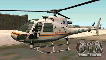 Bo 105 EMERCOM da Rússia para GTA San Andreas