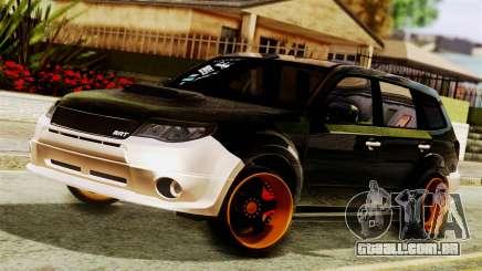 Subaru Forester Stanced para GTA San Andreas