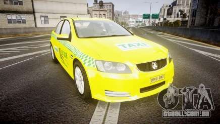 Holden Commodore Omega Series II Taxi v3.0 para GTA 4