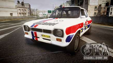 Ford Escort RS1600 PJ39 para GTA 4
