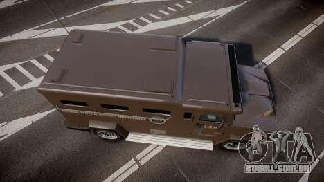 GTA V Brute Police Riot para GTA 4 vista direita