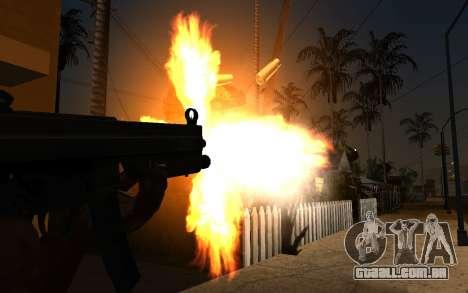 IMFX Gunflash para GTA San Andreas segunda tela