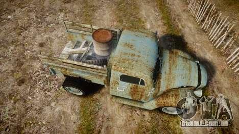 GTA V Bravado Rat-Loader rust para GTA 4 vista direita
