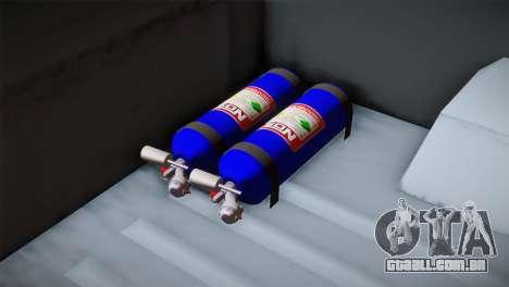 Camber Bobcat Editon para GTA San Andreas vista traseira