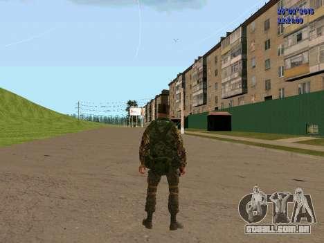 Não Cossaco para GTA San Andreas quinto tela