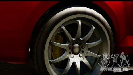 GTA 5 Maibatsu Penumbra SA Mobile para GTA San Andreas vista traseira