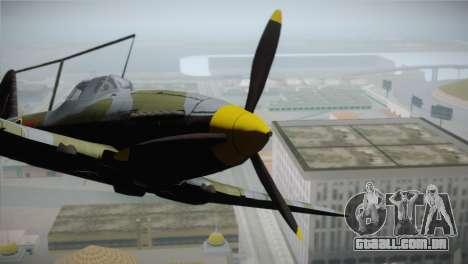 ИЛ-10 da Força Aérea russa para GTA San Andreas vista direita