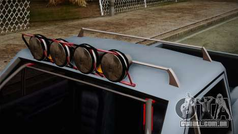 Camber Bobcat Editon para GTA San Andreas vista direita