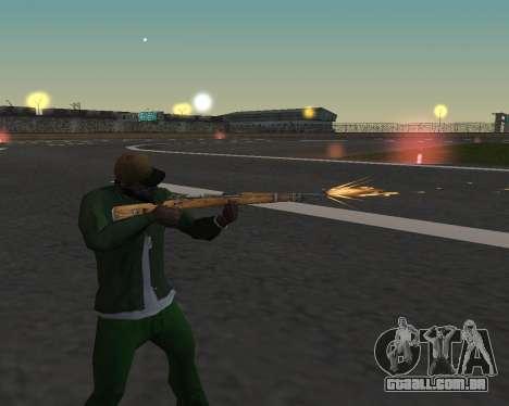Lindas fotos de armas para GTA San Andreas