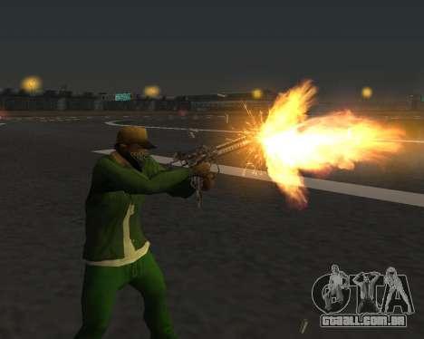 Lindas fotos de armas para GTA San Andreas twelth tela