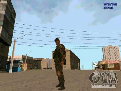 Não Cossaco para GTA San Andreas terceira tela