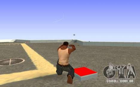 Glock-18 a água do CS:GO para GTA San Andreas terceira tela