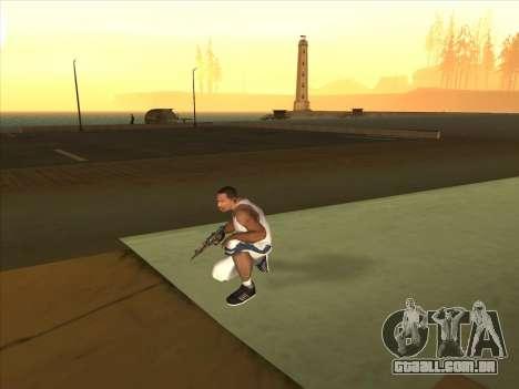 Russo submachine guns para GTA San Andreas terceira tela