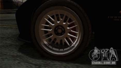 GTA 5 Bravado Banshee IVF para GTA San Andreas traseira esquerda vista