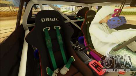 Elegy Undercover para vista lateral GTA San Andreas
