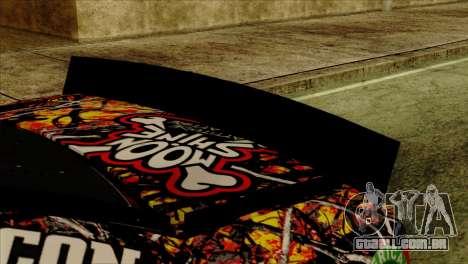 NASCAR Chevy SS 2013 para GTA San Andreas vista direita