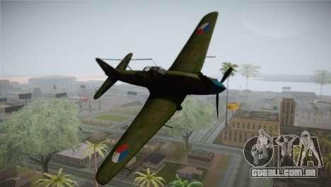 ИЛ-10 Força Aérea checa para GTA San Andreas