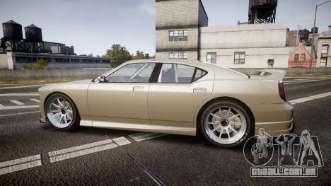 Bravado Buffalo Supercharged 2015 para GTA 4 esquerda vista