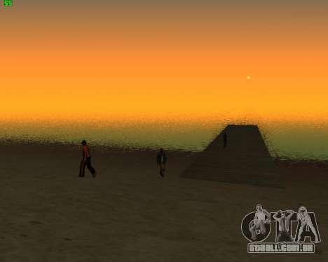 ENB JP para GTA San Andreas segunda tela