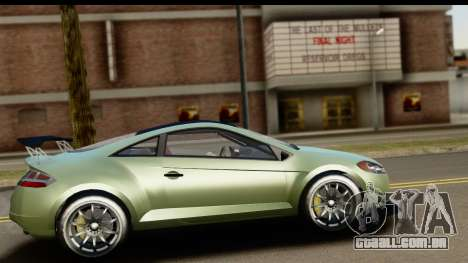 GTA 5 Maibatsu Penumbra SA Mobile para GTA San Andreas esquerda vista