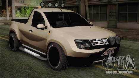 Dacia Duster Pickup 2014 para GTA San Andreas