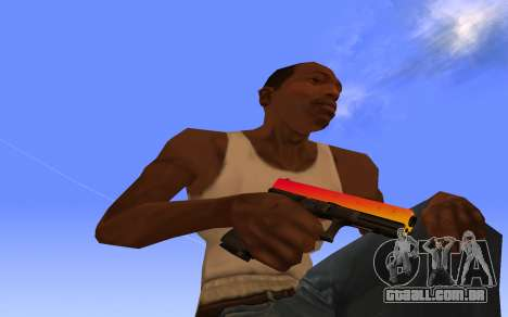Glock-18 gradiente de CS:GO para GTA San Andreas