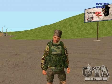 Não Cossaco para GTA San Andreas por diante tela