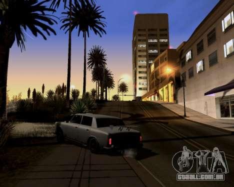 Graphic Update ENB Series para GTA San Andreas segunda tela