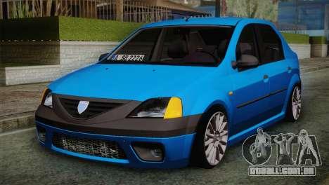 Dacia Logan 2006 para GTA San Andreas