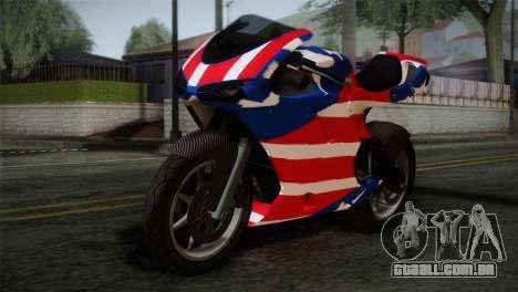 GTA 5 Bati American para GTA San Andreas