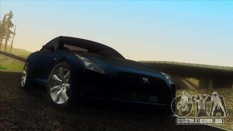 Vanilla ENB Series para GTA San Andreas por diante tela