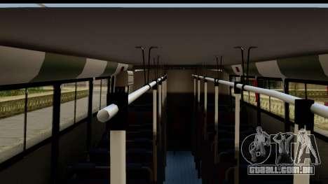 Marcopolo Torino GV Linea 29 Panchito Lopez para GTA San Andreas traseira esquerda vista