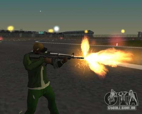 Lindas fotos de armas para GTA San Andreas sexta tela