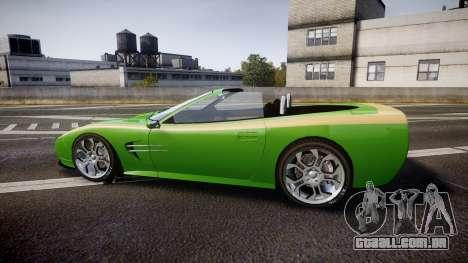 Invetero Coquette Roadster para GTA 4 esquerda vista