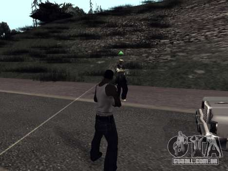 ColorMod by Sorel para GTA San Andreas por diante tela