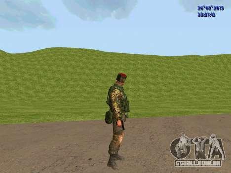 Não Cossaco para GTA San Andreas sexta tela
