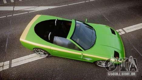 Invetero Coquette Roadster para GTA 4 vista direita