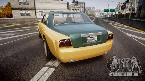 Enus Super Diamond 2 Colors para GTA 4 traseira esquerda vista