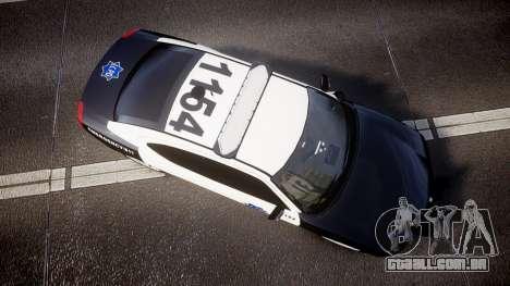 Dodge Charger 2010 LCPD [ELS] para GTA 4 vista direita