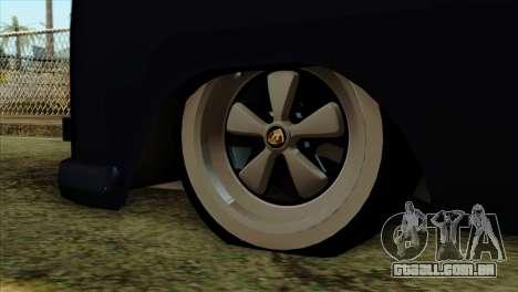 Volkswagen Type 2 para GTA San Andreas vista direita