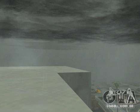 Novo nuvens e Colormod para GTA San Andreas terceira tela